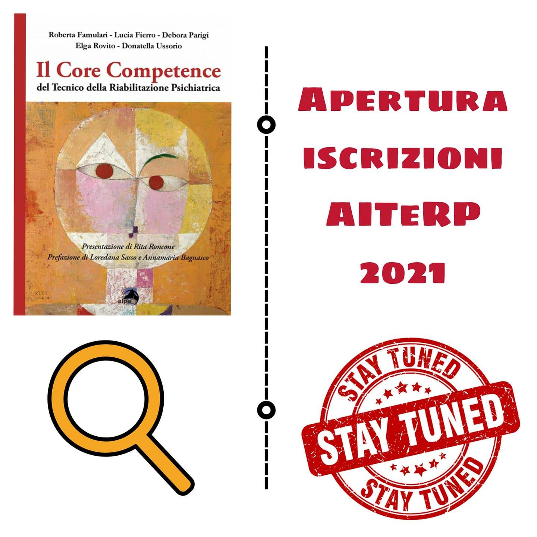 APERTURA ISCRIZIONI AITeRP 2021! STAY TUNED