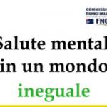 """Giornata mondiale della salute mentale 2021: """"Mental Health in an Unequal World"""""""